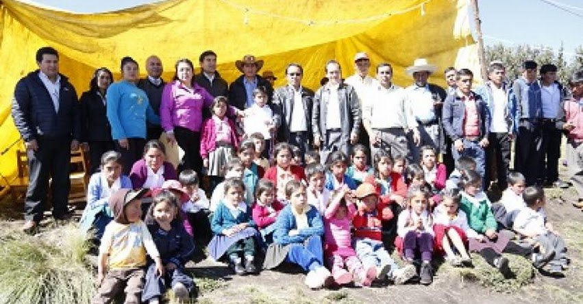 Crean Institución Educativa Primaria en Caserío Conga Buenos Aires, Hualgayoc - Cajamarca