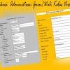 Contoh Aplikasi Administrasi Guru/Wali Kelas Versi Baru