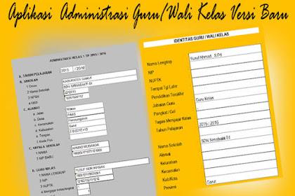 Aplikasi Administrasu Guru Kelas New Version