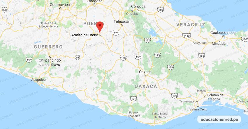Temblor en México de Magnitud 4.1 (Hoy Domingo 10 Marzo 2019) Sismo - Terremoto - Epicentro - Acatlán de Osorio - Puebla - SSN - www.ssn.unam.mx