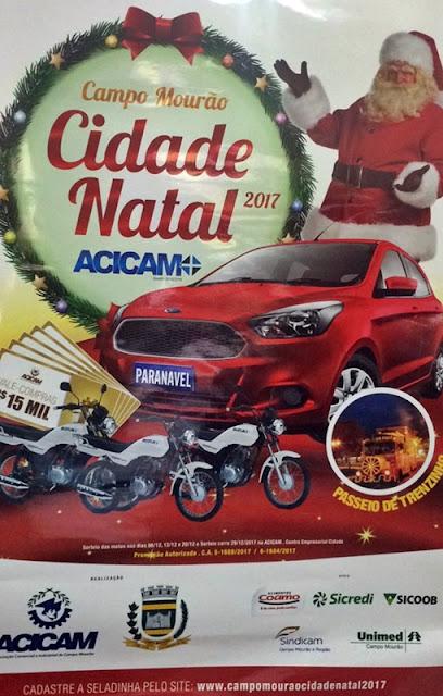 Comprando na Farmácia Santa Rosa de Lima você pode ganhar um carro no dia 29/12
