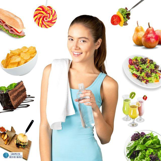 No caigas en la tentación de comer alimentos calóricos