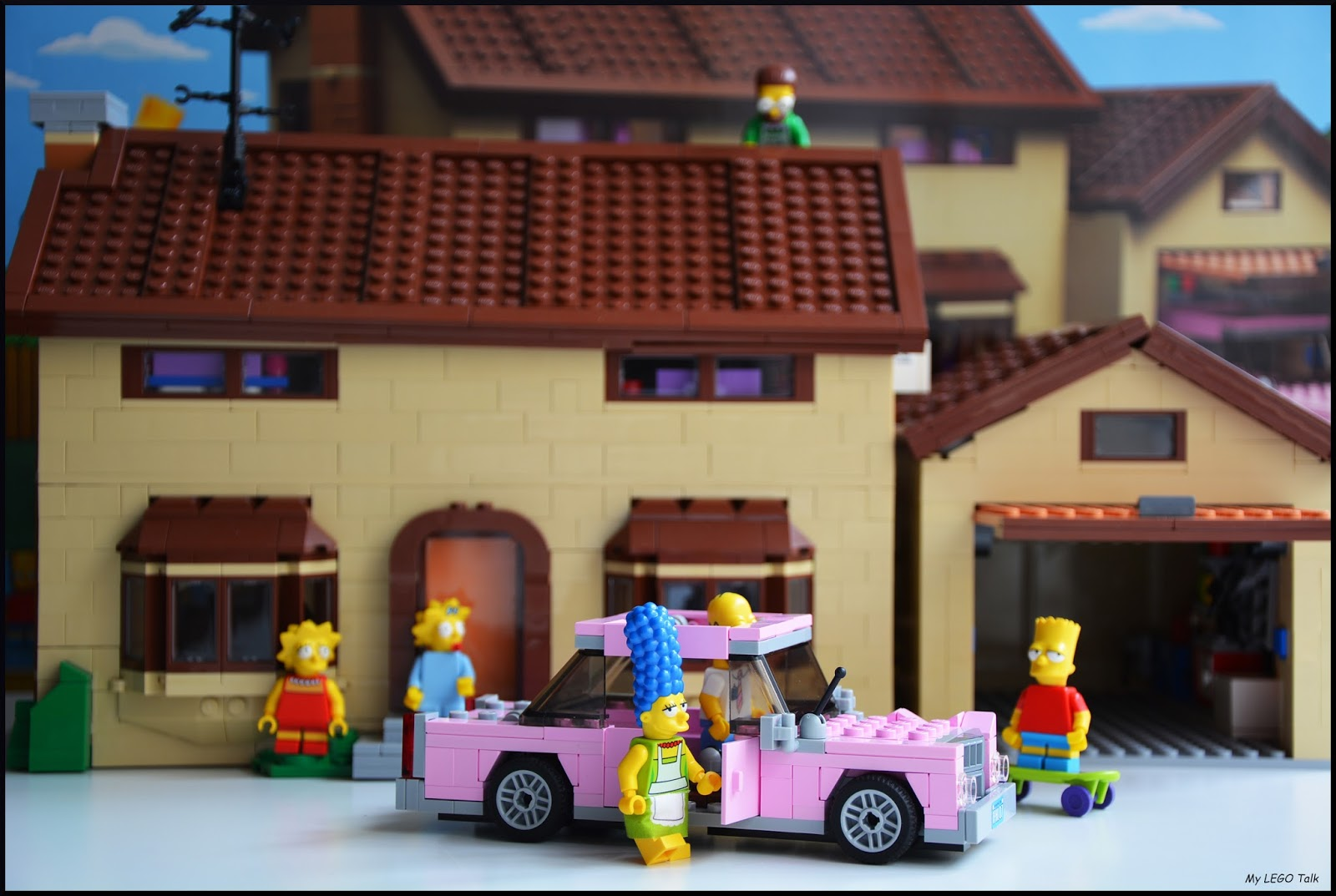 The Simpsons House Finally Completed My Lego Talk