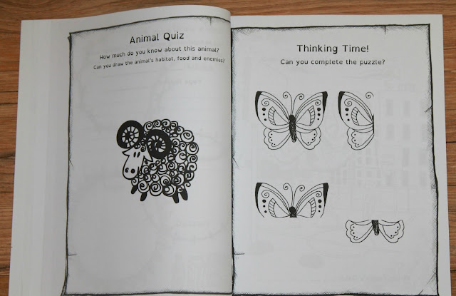 The Thinking Tree Active Boys Spring Journal