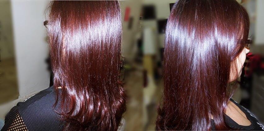 cabelos tratados