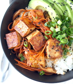 korean tofu rice bowl recipe by season with spice shop