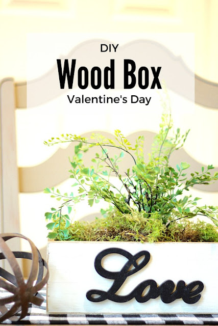 valentines day wood box diy