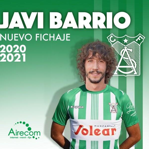 Oficial: Atlético Sanluqueño, llega Javi Barrio