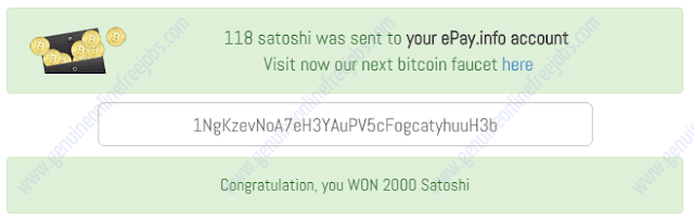 Clicked on  the Rabbit and won 2000 extra satoshis