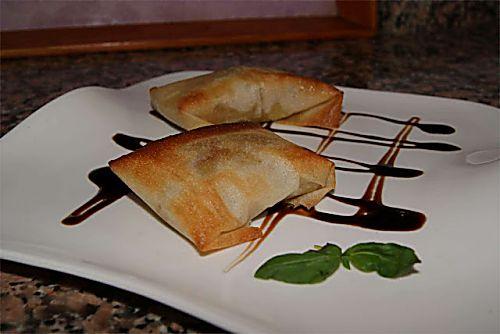 Receta de paquetitos de salmón