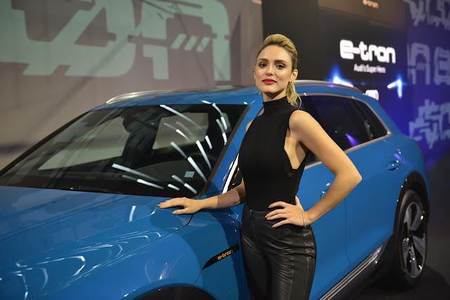 Isabelle Drummond - Audi e-Tron