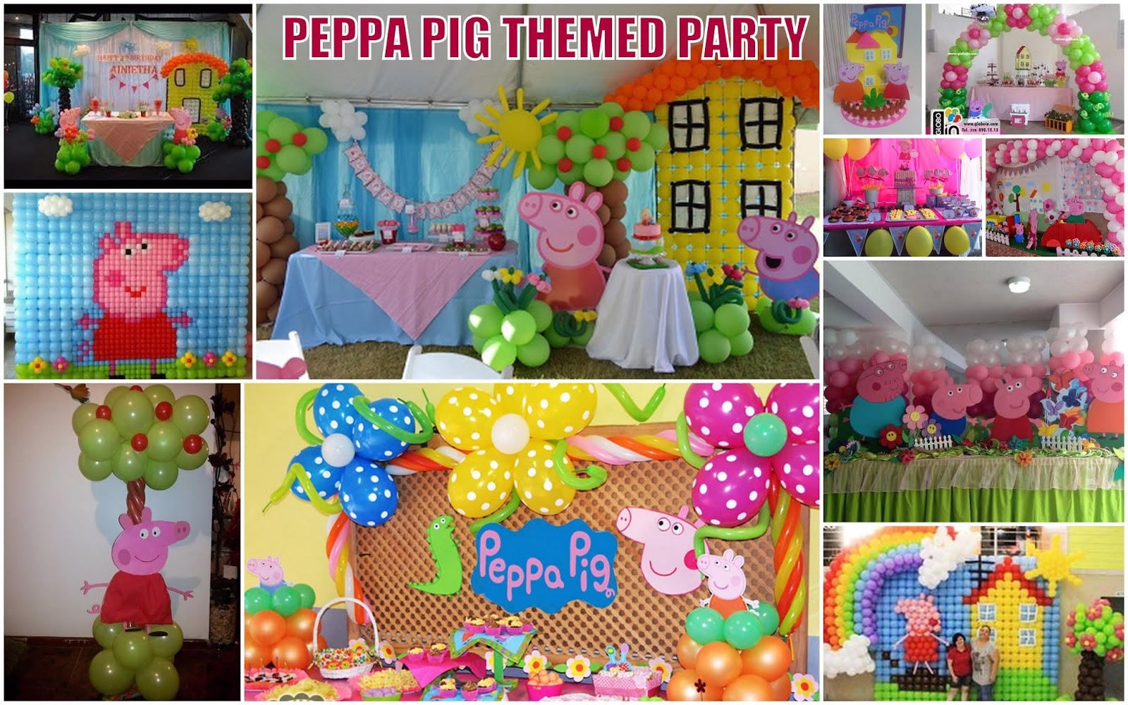 Complete Kiddie Party Packages Athena Miel S Balloons