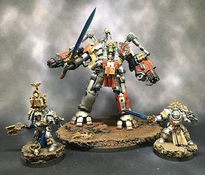 Grey Knight Grand Master, Librarian, and Brotherhood Champion