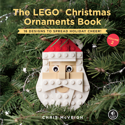 No Starch Press LEGO Christmas Ornaments Book Volume 2