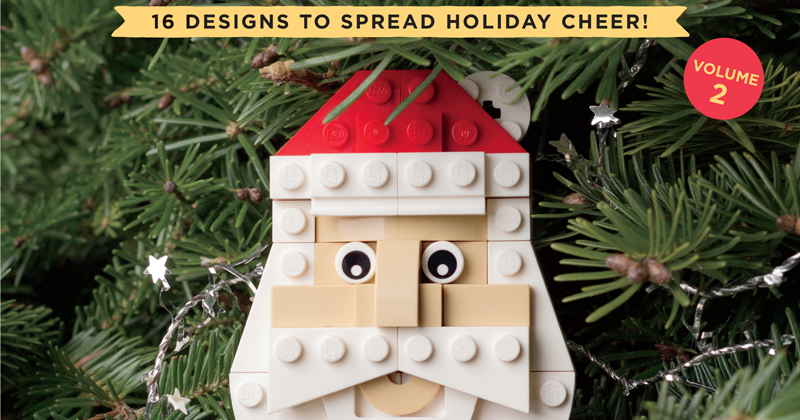 Idle Hands The Lego Christmas Ornaments Book Volume 2