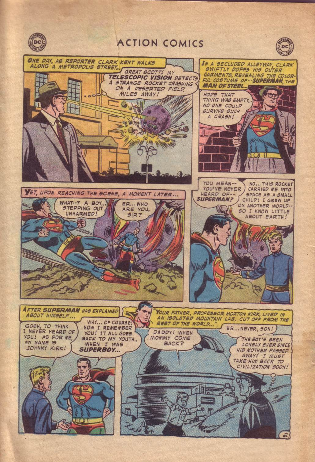 Read online Action Comics (1938) comic -  Issue #232 - 4