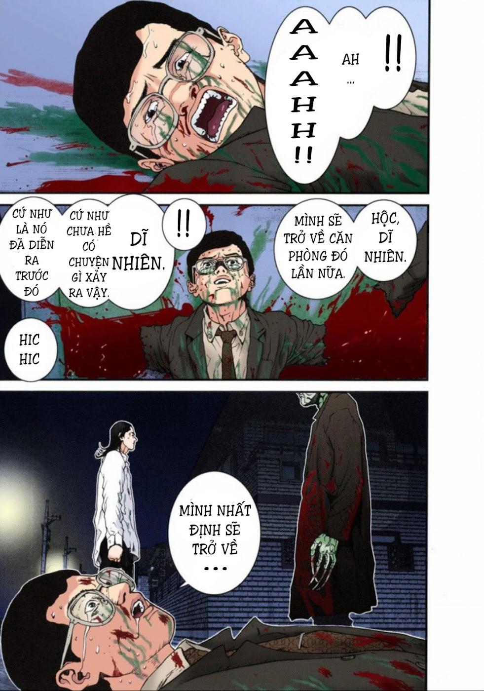 Gantz Chap 12: Thôi miên và thức tỉnh trang 5
