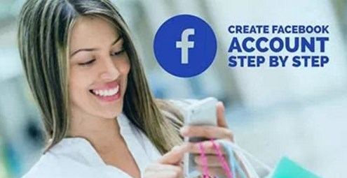 step by step to create a facebook account