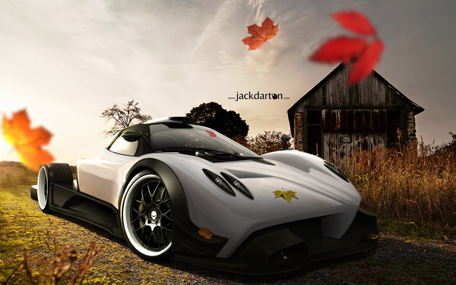Pagani Zonda Super Car Hd Wallpapers Hd Wallpaper