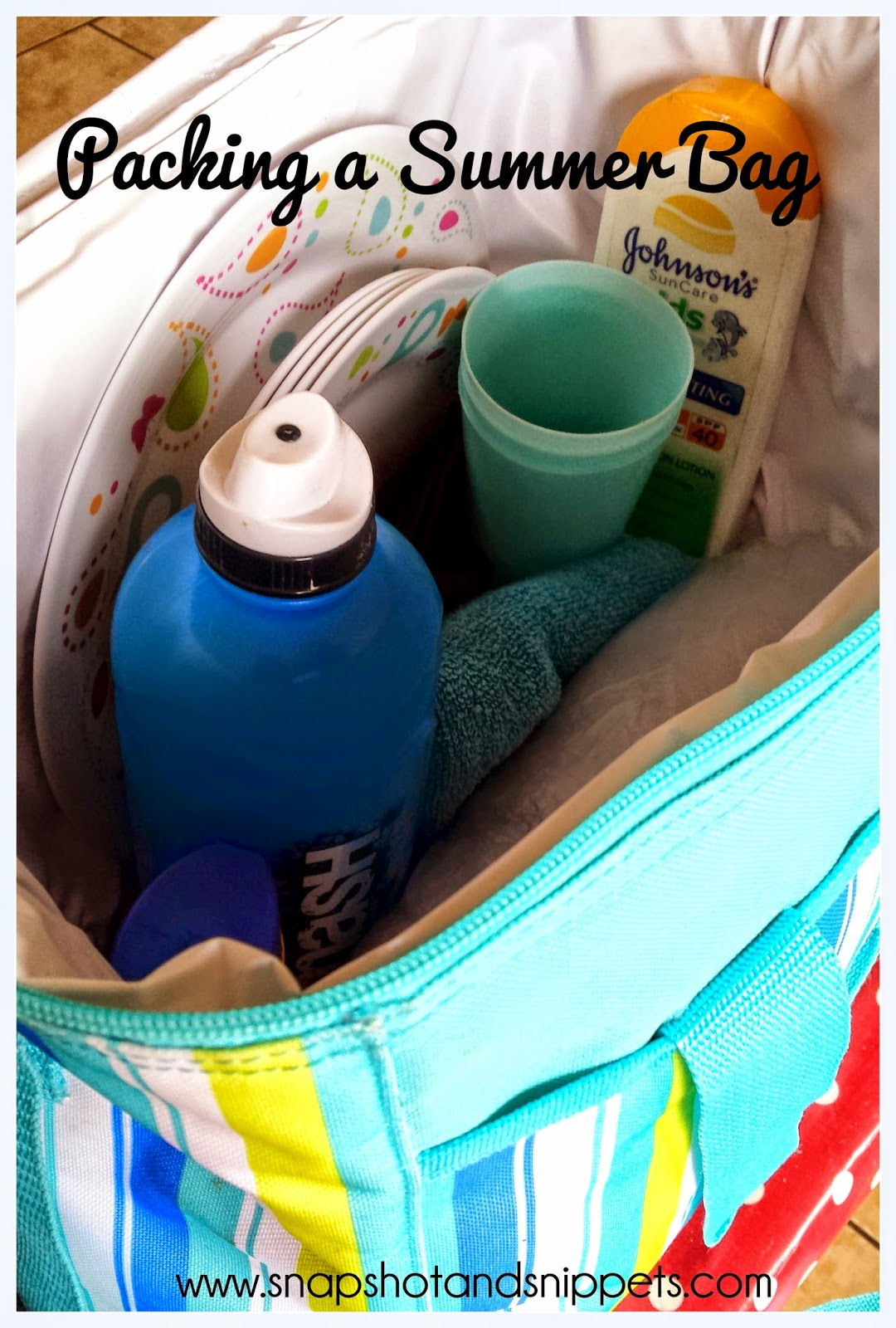 How to pack a summer bag