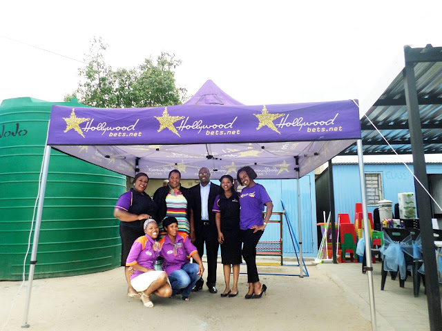 Shalate Drop-In Centre  - Hollywoodbets - Polokwane - Donation