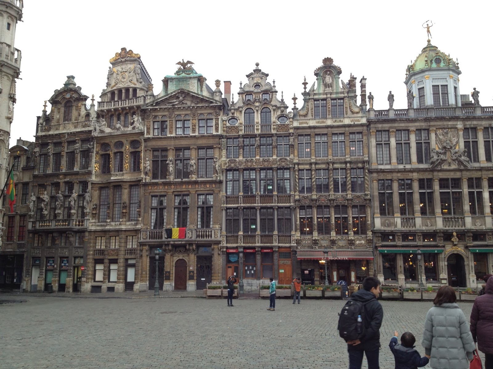Brussels - Grand Place looks so different during the day