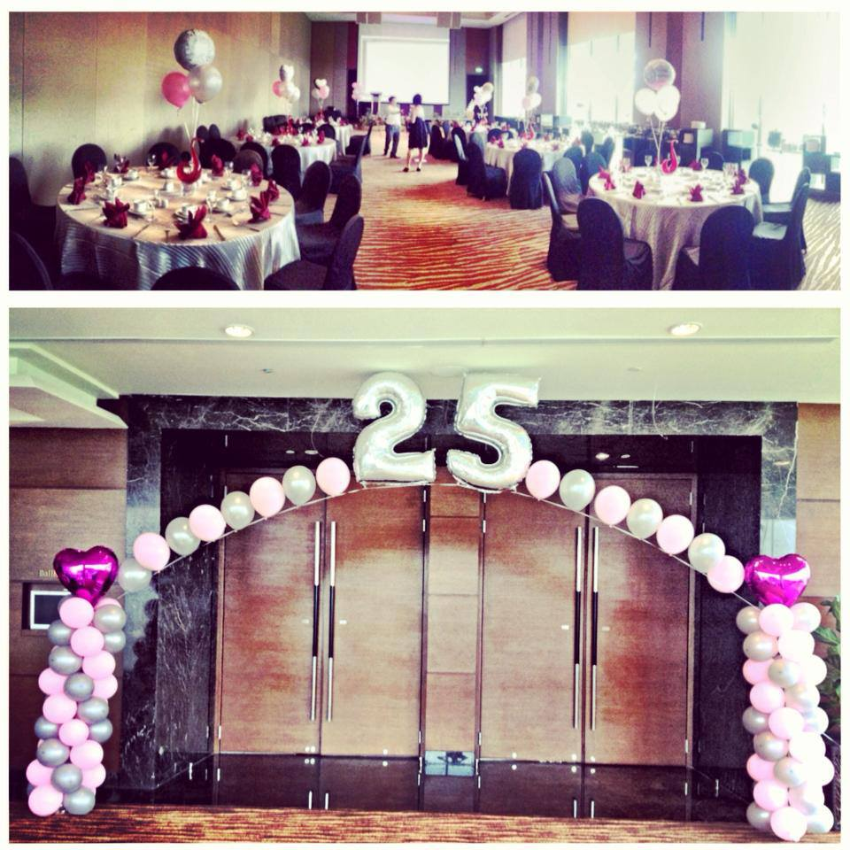 25th Wedding Anniversary Decoration Ideas: Balloon Sculpting For Parties And Events