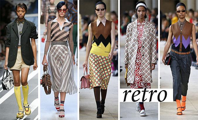 moda retro 2018 lata 50