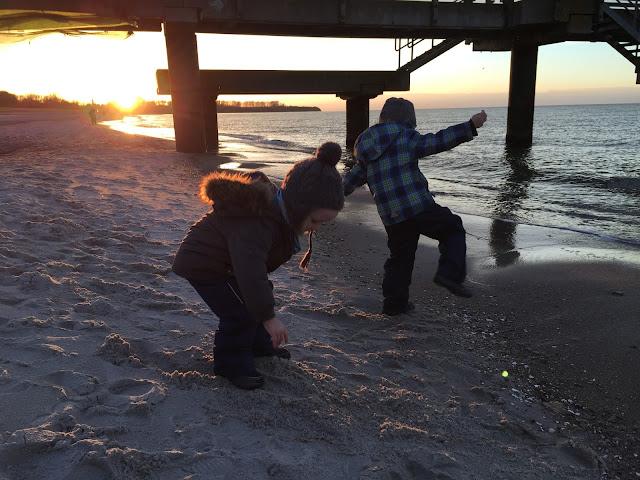 Zwuggel und Wutz am Strand