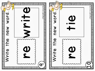 You Quack Me Up ELA & Math for First grade prefixes
