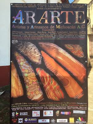 ARARTE Art Exhibition in Pátzcuaro