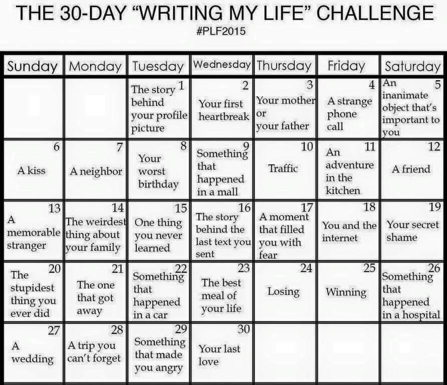 Challenge in life essay