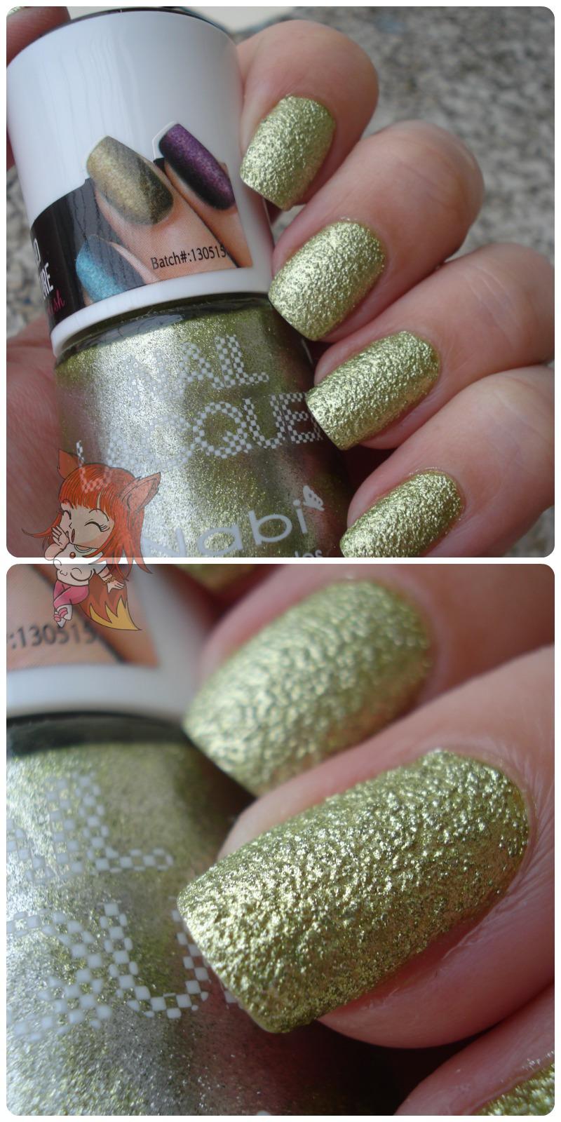Esmalte Nabi :: Sand Green - Resenha
