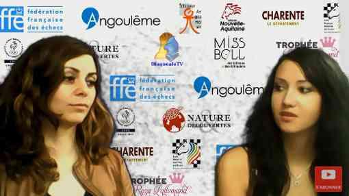 Nino Maisuradze remporte le titre de championne de France d'échecs rapide 2018 avec 8 points sur 9 et Cécile Haussernot est vice-championne avec 7,5 points