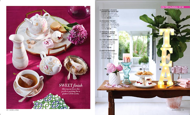 Avon Living Floral Decor >>>