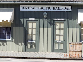 central pacific railroad station