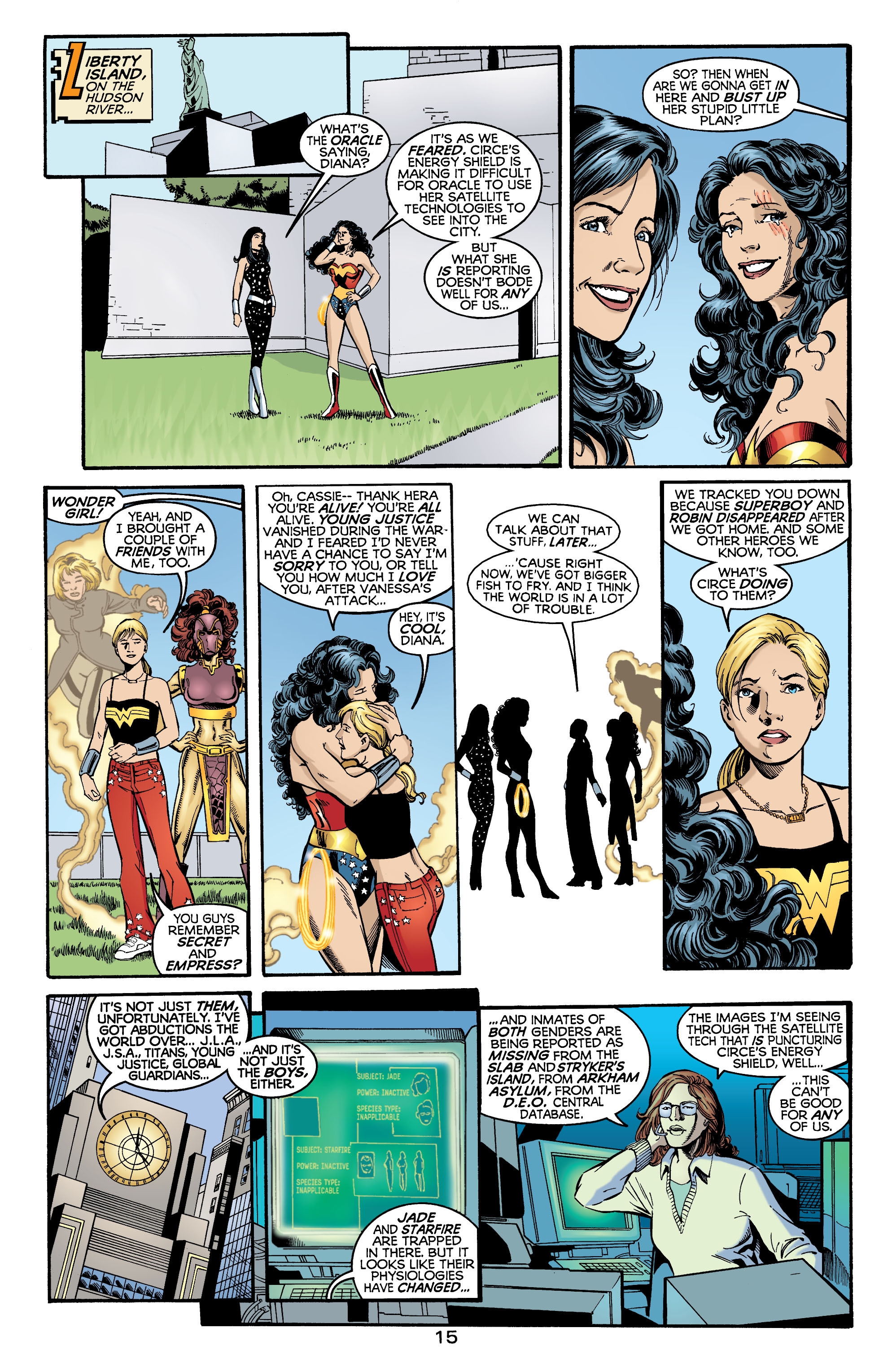 Read online Wonder Woman (1987) comic -  Issue #174 - 16