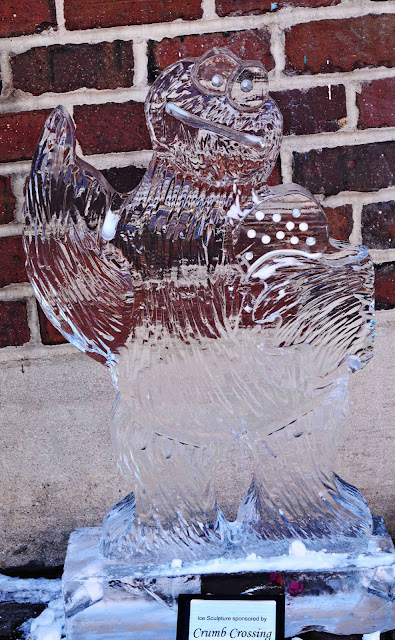 Ice Carving Cookie Monster