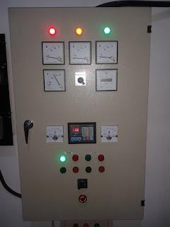 Melayani service dan pembuatan panel kontrol genset