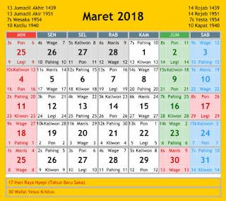 kalender umroh maret