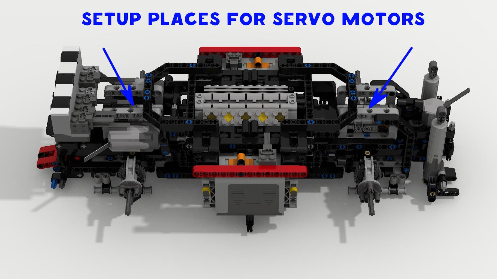 Filsawgood Lego Technic Creations Lego Technic Aircraft Tug Xl