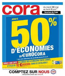 Catalogue Cora 30 Mai au 05 Juin 2017