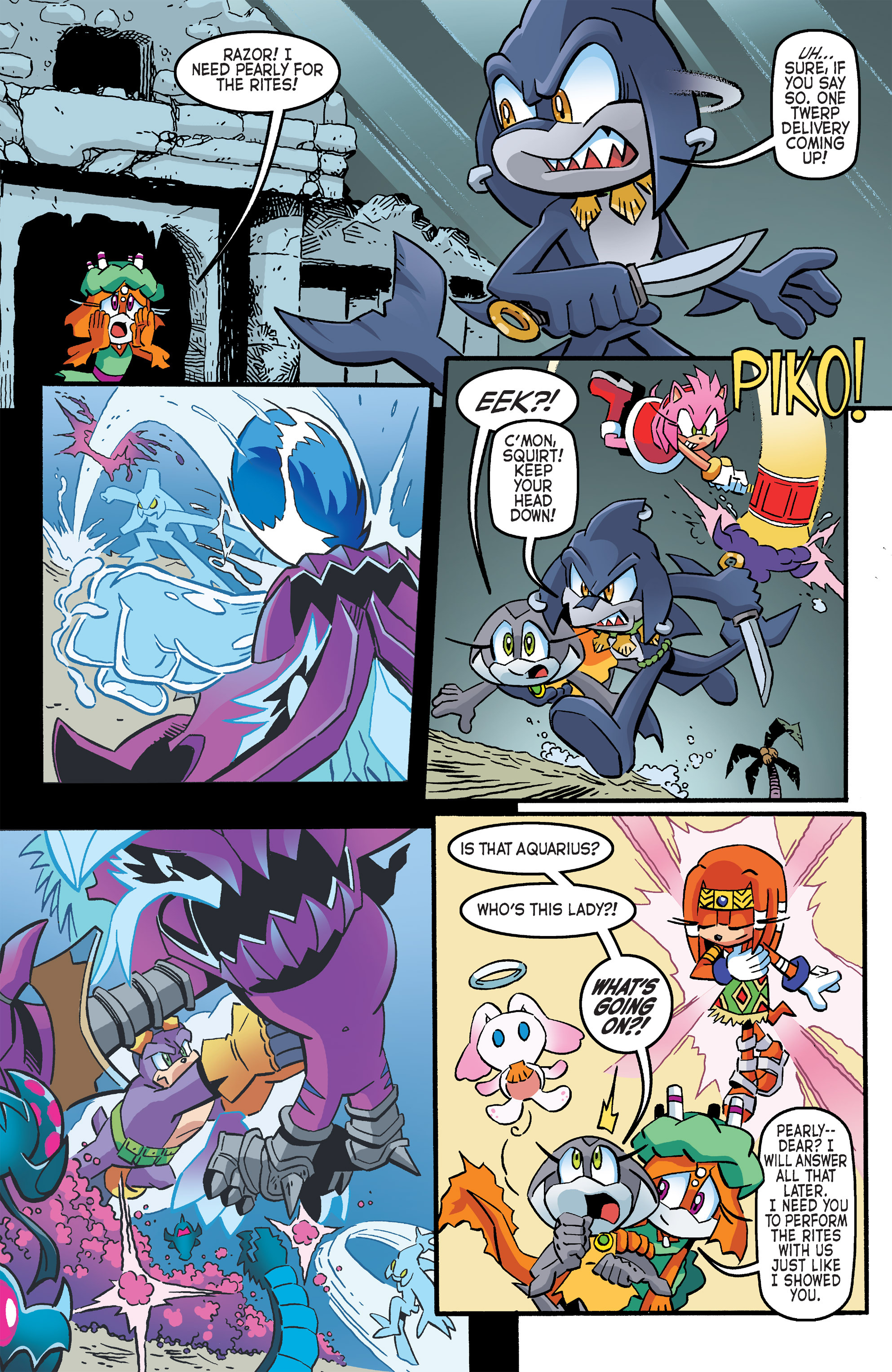 Read online Sonic The Hedgehog comic -  Issue #263 - 10