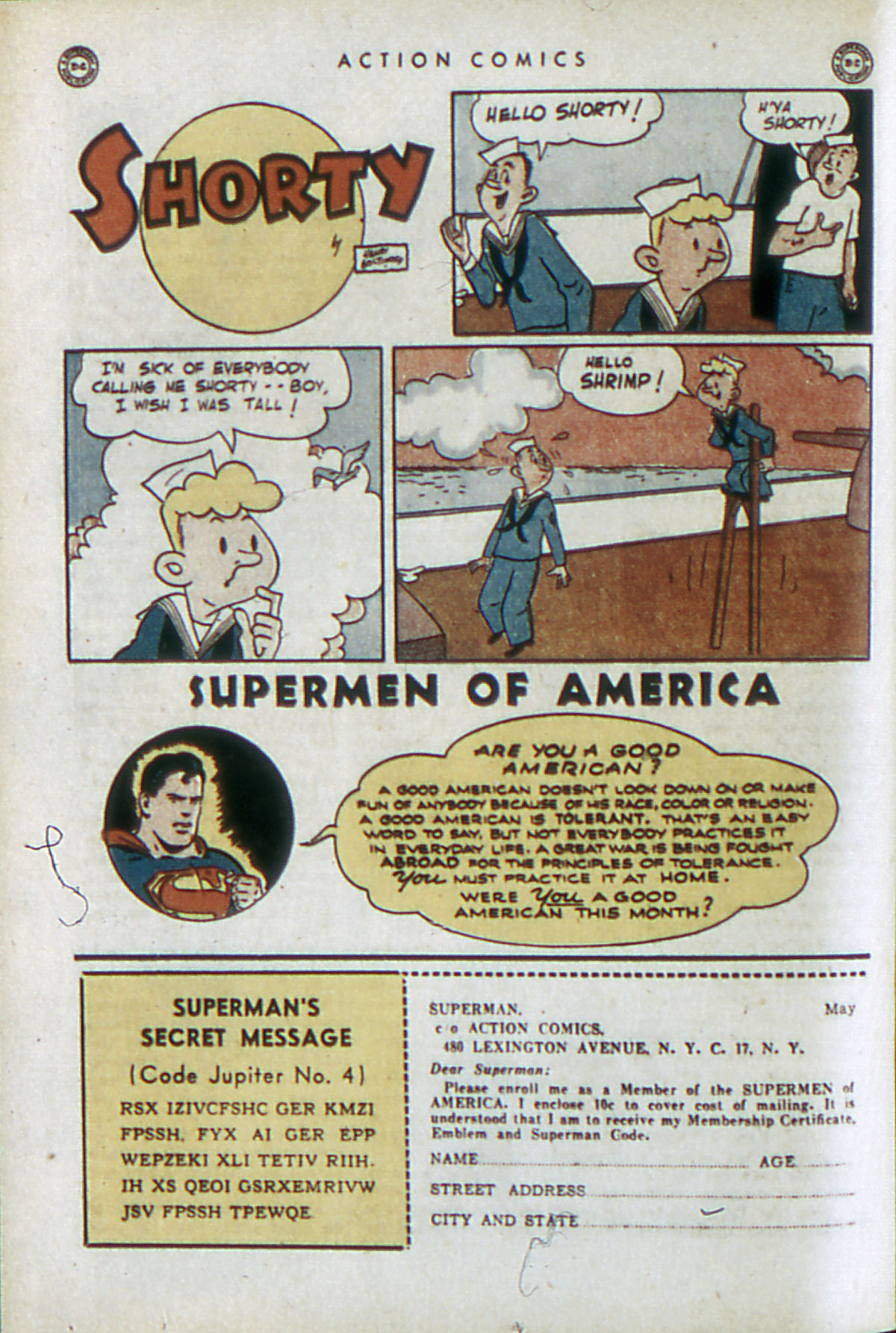 Read online Action Comics (1938) comic -  Issue #84 - 29