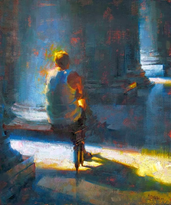 Современная канадская художница. Jennifer McChristian