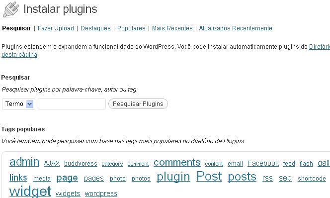 como instalar um plugin