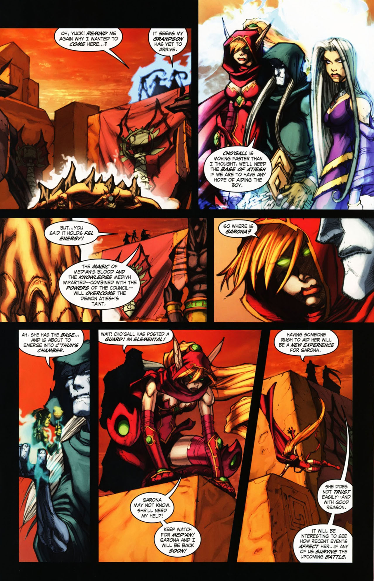 Read online World of Warcraft comic -  Issue #25 - 10