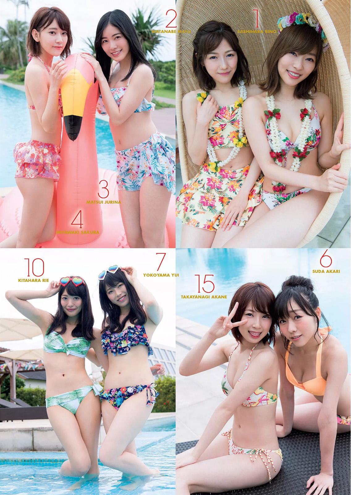 AKB48, Weekly Playboy 2017 No.33 (週刊プレイボーイ 2017年33号)
