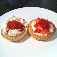 Strawberries and cream pie review