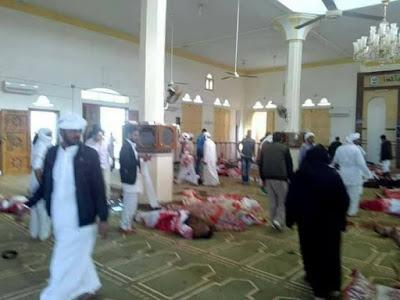 الإرهاب يستهدف بيوت الله فى شمال سيناء وقت صلاة الجمعة